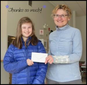 Abby Reichert donation